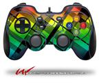Rainbow Plaid - Decal Style Skin fits Logitech F310 Gamepad Controller (CONTROLLER SOLD SEPARATELY)