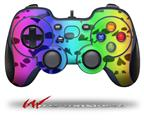 Rainbow Skull Collection - Decal Style Skin fits Logitech F310 Gamepad Controller (CONTROLLER SOLD SEPARATELY)