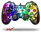 Rainbow Graffiti - Decal Style Skin fits Logitech F310 Gamepad Controller (CONTROLLER SOLD SEPARATELY)