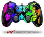 Rainbow Leopard - Decal Style Skin fits Logitech F310 Gamepad Controller (CONTROLLER SOLD SEPARATELY)