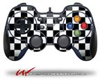 Checkers White - Decal Style Skin fits Logitech F310 Gamepad Controller (CONTROLLER SOLD SEPARATELY)