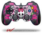 Princess Skull Heart - Decal Style Skin fits Logitech F310 Gamepad Controller (CONTROLLER SOLD SEPARATELY)