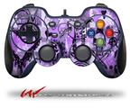 Scene Kid Sketches Purple - Decal Style Skin fits Logitech F310 Gamepad Controller (CONTROLLER SOLD SEPARATELY)