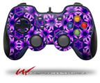 Daisies Purple - Decal Style Skin fits Logitech F310 Gamepad Controller (CONTROLLER SOLD SEPARATELY)