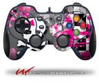 Girly Pink Bow Skull - Decal Style Skin fits Logitech F310 Gamepad Controller (CONTROLLER SOLD SEPARATELY)