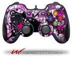 Pink Star Splatter - Decal Style Skin fits Logitech F310 Gamepad Controller (CONTROLLER SOLD SEPARATELY)