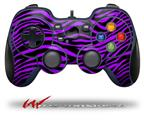 Purple Zebra - Decal Style Skin fits Logitech F310 Gamepad Controller (CONTROLLER SOLD SEPARATELY)