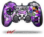 Purple Princess Skull - Decal Style Skin fits Logitech F310 Gamepad Controller (CONTROLLER SOLD SEPARATELY)