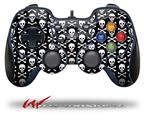 Skull and Crossbones Pattern - Decal Style Skin fits Logitech F310 Gamepad Controller (CONTROLLER SOLD SEPARATELY)