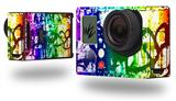 Rainbow Graffiti - Decal Style Skin fits GoPro Hero 3+ Camera (GOPRO NOT INCLUDED)