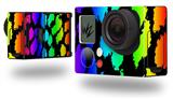 Rainbow Leopard - Decal Style Skin fits GoPro Hero 3+ Camera (GOPRO NOT INCLUDED)