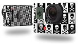 Skull Checkerboard - Decal Style Skin fits GoPro Hero 3+ Camera (GOPRO NOT INCLUDED)