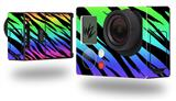 Tiger Rainbow - Decal Style Skin fits GoPro Hero 3+ Camera (GOPRO NOT INCLUDED)
