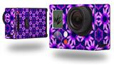Daisies Purple - Decal Style Skin fits GoPro Hero 3+ Camera (GOPRO NOT INCLUDED)