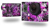 Butterfly Graffiti - Decal Style Skin fits GoPro Hero 3+ Camera (GOPRO NOT INCLUDED)
