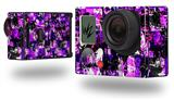 Purple Graffiti - Decal Style Skin fits GoPro Hero 3+ Camera (GOPRO NOT INCLUDED)