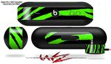 Decal Style Wrap Skin fits Beats Pill Plus Zebra Green (BEATS PILL NOT INCLUDED)