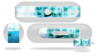 Decal Style Wrap Skin fits Beats Pill Plus Electro Graffiti Blue (BEATS PILL NOT INCLUDED)