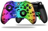 Rainbow Skull Collection - Decal Style Skin fits Microsoft XBOX One ELITE Wireless Controller