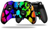 Rainbow Leopard - Decal Style Skin fits Microsoft XBOX One ELITE Wireless Controller
