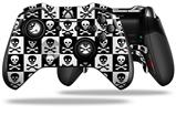 Skull Checkerboard - Decal Style Skin fits Microsoft XBOX One ELITE Wireless Controller