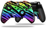 Tiger Rainbow - Decal Style Skin fits Microsoft XBOX One ELITE Wireless Controller
