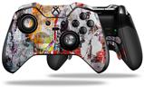 Abstract Graffiti - Decal Style Skin fits Microsoft XBOX One ELITE Wireless Controller