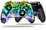 Scene Kid Sketches Rainbow - Decal Style Skin fits Microsoft XBOX One ELITE Wireless Controller