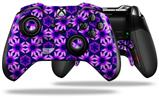Daisies Purple - Decal Style Skin fits Microsoft XBOX One ELITE Wireless Controller
