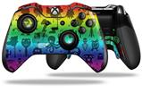 Cute Rainbow Monsters - Decal Style Skin fits Microsoft XBOX One ELITE Wireless Controller