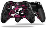 Girly Skull Bones - Decal Style Skin fits Microsoft XBOX One ELITE Wireless Controller