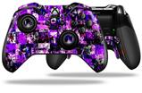 Purple Graffiti - Decal Style Skin fits Microsoft XBOX One ELITE Wireless Controller