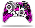 Skin Wrap for Microsoft XBOX One S / X Controller Punk Skull Princess