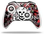 Skull Splatter - Decal Style Skin fits Microsoft XBOX One X and One S Wireless Controller