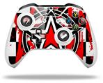 Skin Wrap for Microsoft XBOX One S / X Controller Star Checker Splatter