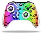 Rainbow Skull Collection - Decal Style Skin fits Microsoft XBOX One X and One S Wireless Controller