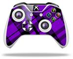 Skin Wrap for Microsoft XBOX One S / X Controller Purple Plaid