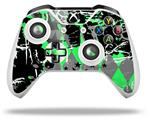 Skin Wrap for Microsoft XBOX One S / X Controller SceneKid Green