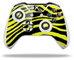Zebra Yellow - Decal Style Skin fits Microsoft XBOX One X and One S Wireless Controller