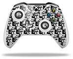 Skin Wrap for Microsoft XBOX One S / X Controller Skull Checker