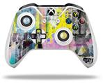 Skin Wrap for Microsoft XBOX One S / X Controller Graffiti Pop
