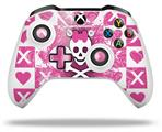 Skin Wrap for Microsoft XBOX One S / X Controller Princess Skull