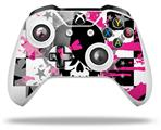Scene Kid Girl Skull - Decal Style Skin fits Microsoft XBOX One X and One S Wireless Controller