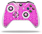 Skin Wrap for Microsoft XBOX One S / X Controller Gothic Punk Pattern Pink
