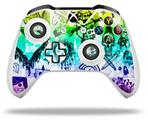Scene Kid Sketches Rainbow - Decal Style Skin fits Microsoft XBOX One X and One S Wireless Controller