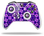 Daisies Purple - Decal Style Skin fits Microsoft XBOX One X and One S Wireless Controller