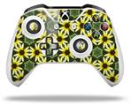 Skin Wrap for Microsoft XBOX One S / X Controller Daisies Yellow