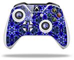 Skin Wrap for Microsoft XBOX One S / X Controller Daisy Blue