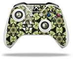 Skin Wrap for Microsoft XBOX One S / X Controller Leave Pattern 1 Green