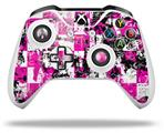 Pink Graffiti - Decal Style Skin fits Microsoft XBOX One X and One S Wireless Controller